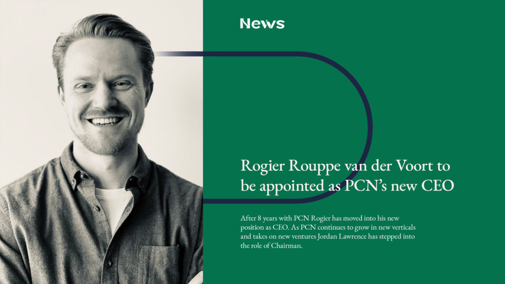 Rogier, the new CEO of PCN