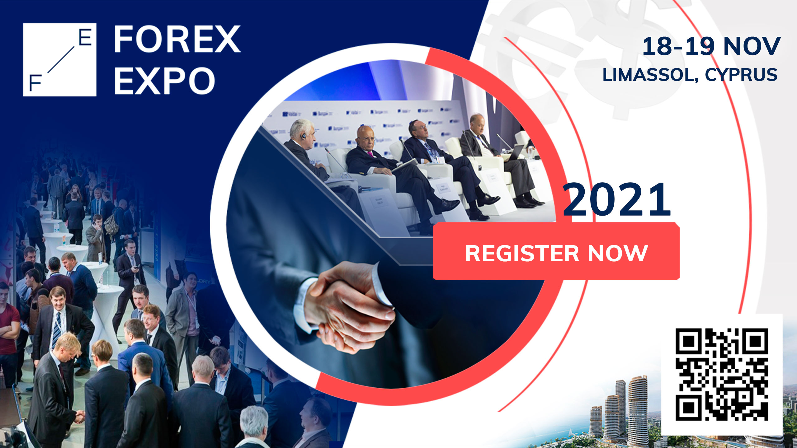 The most expected event in the financial industry – the 20-th Forex Expo 2021 will take place in the hub for the whole Forex Industry in Cyprus. The expo will be bursting with great speakers and professionals of fintech. Here is a place where forex-related businesses, investment companies, banks, liquidity providers, trading software, affiliates will have a possibility to meet face2face and discuss the essential issues of the most recent news in forex trading. At the Forex Expo currency trading companies will establish new business contacts and make themselves much more familiar to their potential clients.